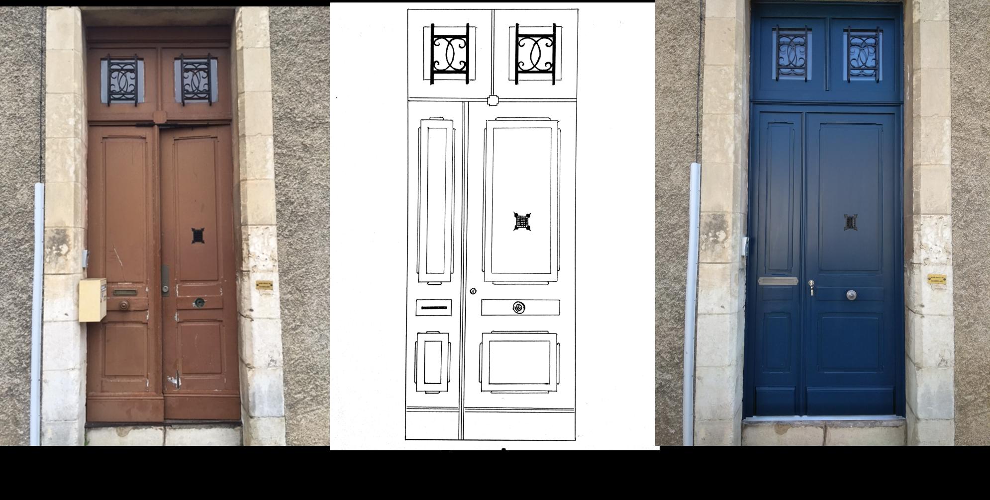 porte d'entrée, rénovation porte, isolation thermique, isolation phonique